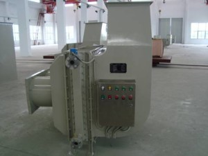 Large frequency converter cooler